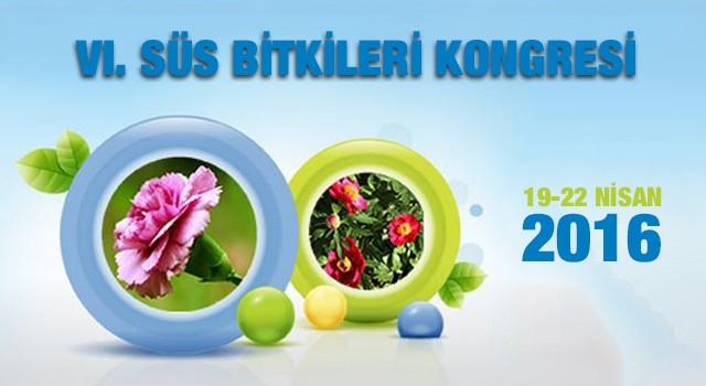VI. Süs Bitkileri Kongresinde Buluşalım